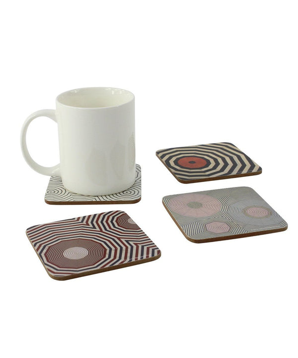 Louise Bourgeois Corkboard Coaster Set