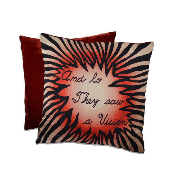 "Judy Chicago Dinner Party ""Vision"" Pillow"