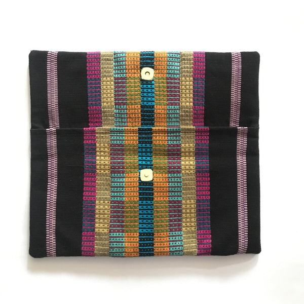 Guatemalan Backstrap Loom Clutch