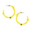 SUNRISE YELLOW HOOPS