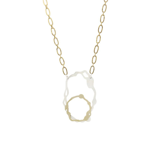 OVAL KOMU NECKLACE