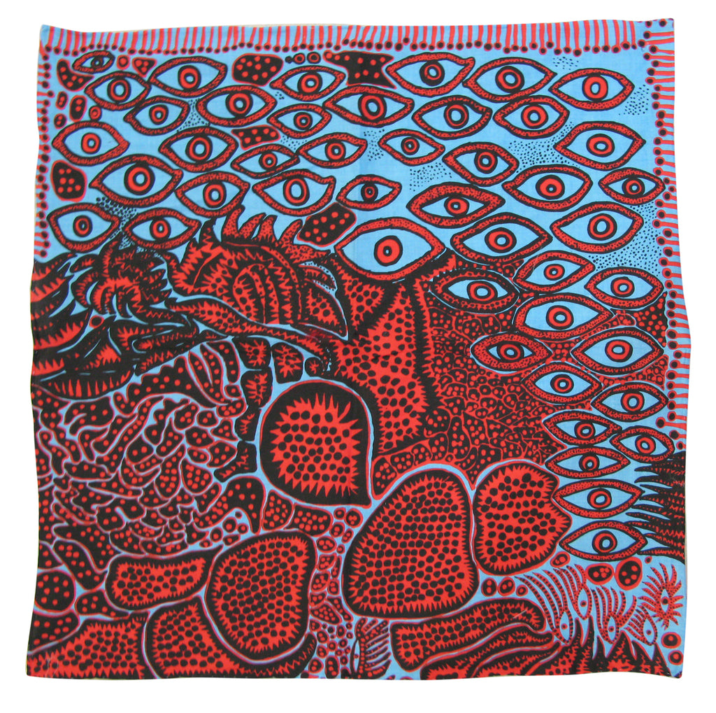 Yayoi Kusama - Eyes of Mine Handkerchief