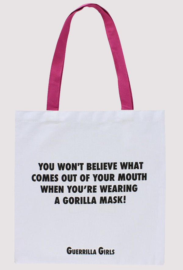 Guerrilla Girls Tote Bag