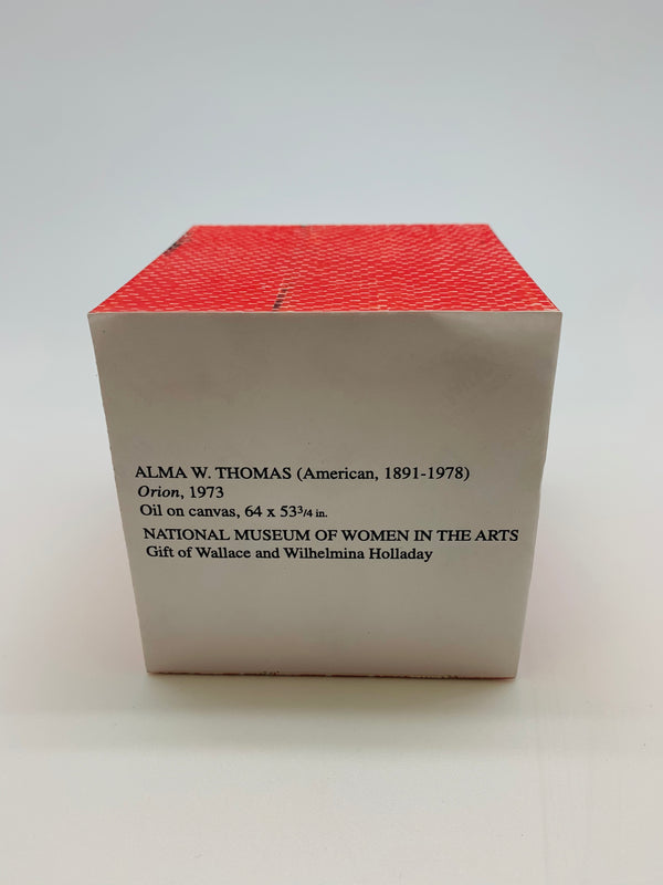 Alma W. Thomas Note Cube