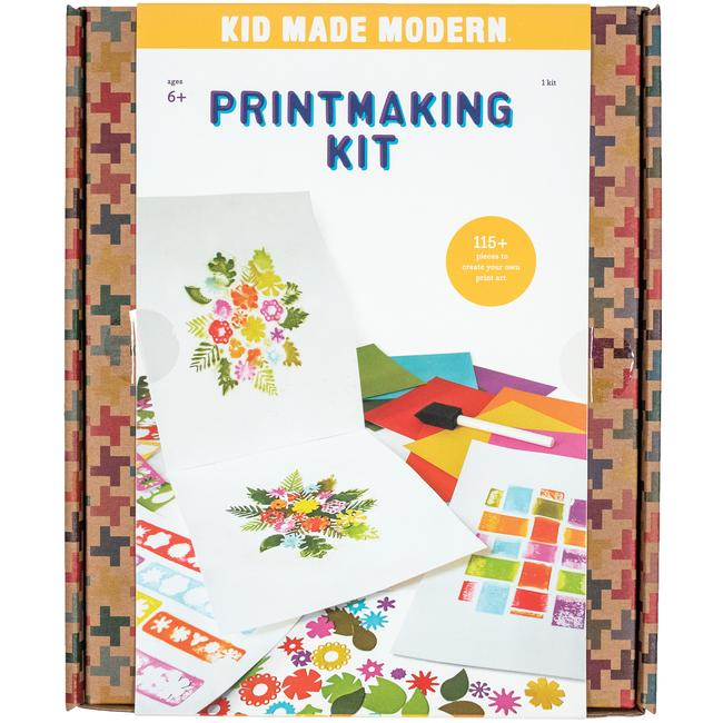 Kid Made Mordern: Printmaking Kit