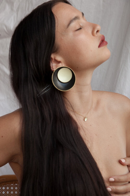 Grand Nested Dome Earrings