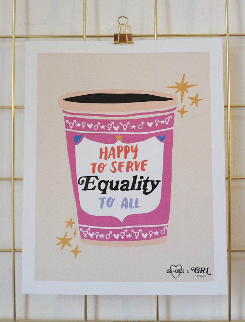 Equality Coffee Print