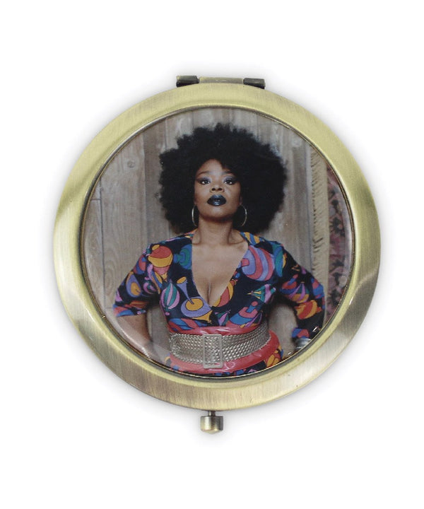 Mickalene Thomas Pocket Mirror