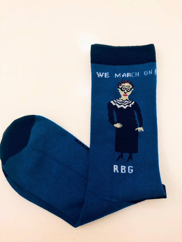 RBG We March On (Larger size)