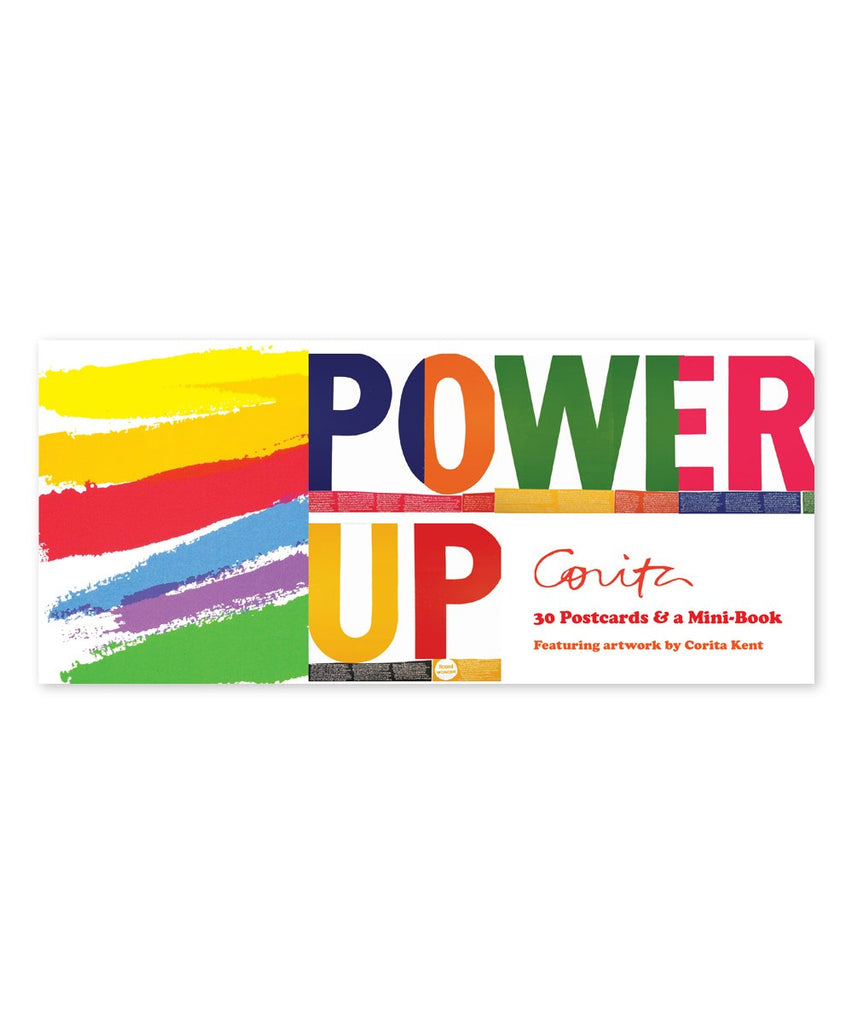 Corita Kent Power Up Postcard Book