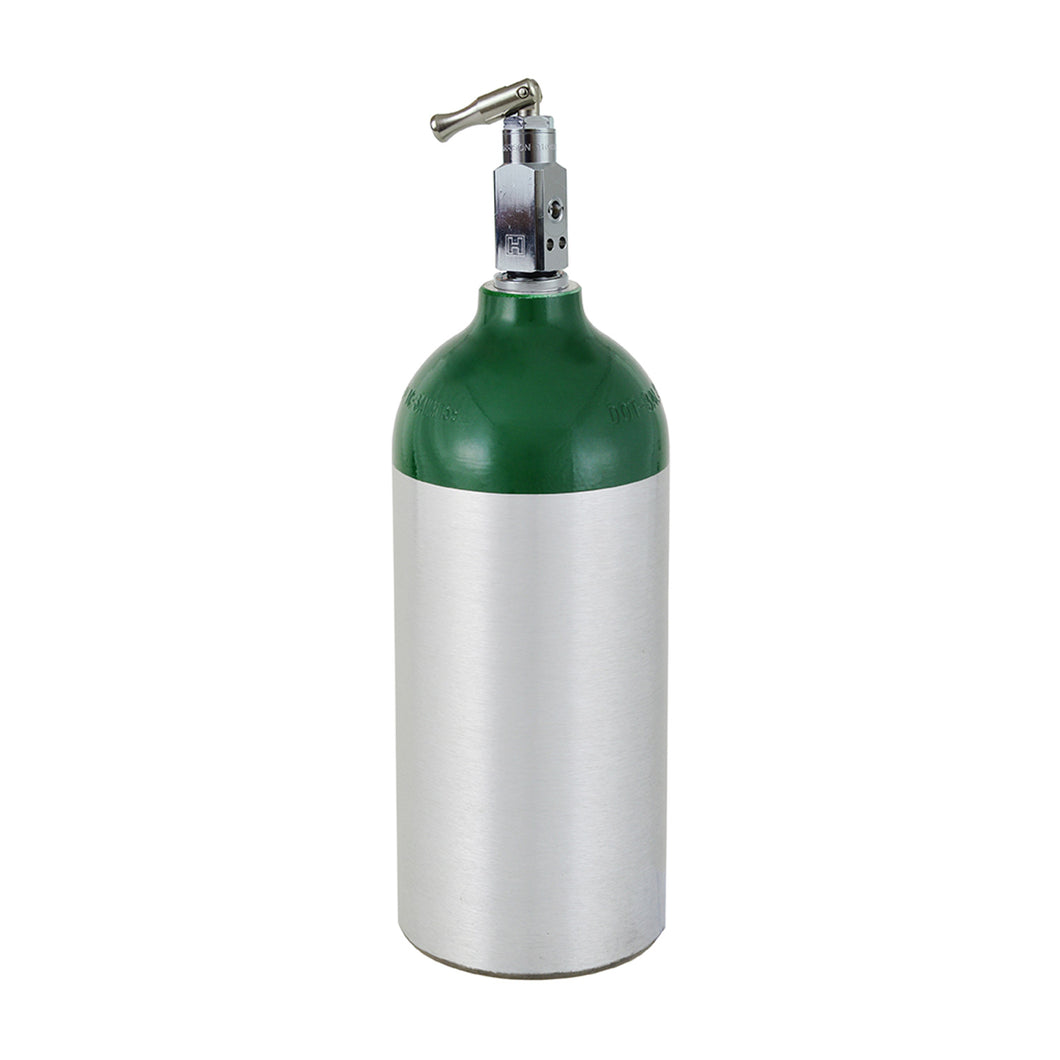 M9 (MC) Medical Oxygen Cylinder w/ Toggle Valve