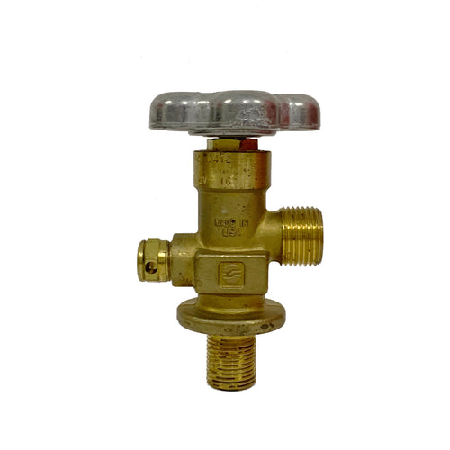 CGA540 Oxygen Threaded Valve 0.750