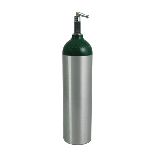 MD Medical Oxygen Cylinder w/ Toggle Valve