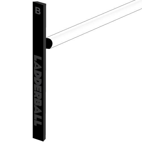 Double Ladderball Crossbar, White