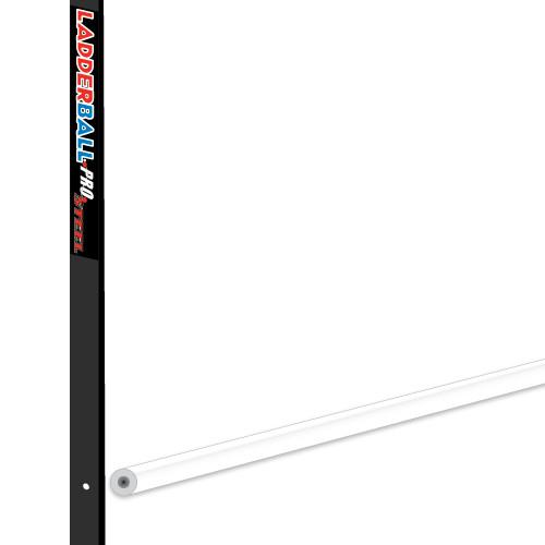Ladderball Pro Steel Crossbar, White