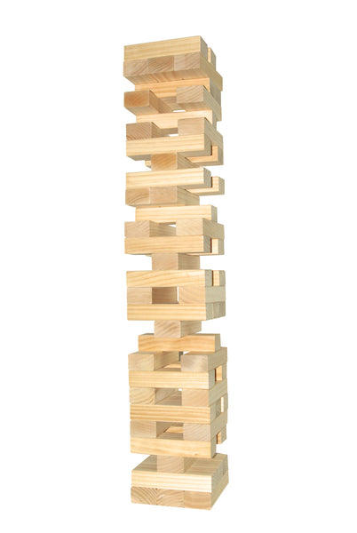 Peter Pan Projects Giant Toppling Timbers stacking game