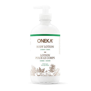 Lotion pour le corps cèdre et sauge by Oneka - Body Lotion | Samara & Co
