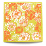 kliin kloet pamplemousse essuie-tout réutilisable jaune yellow reusable paper towel