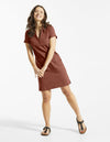 fig ari robe bois de rose rosewood dress