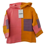 TRAILBLAZER HOODIE in Happy Yellow + Party Purple + Pop Pink - NUDNIK