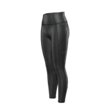 HUB1916 - High Waisted legging made of recycled plastic bottles - Black