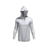 HUB1916 - Casual Hoodie made from recycled plastic bottles - White