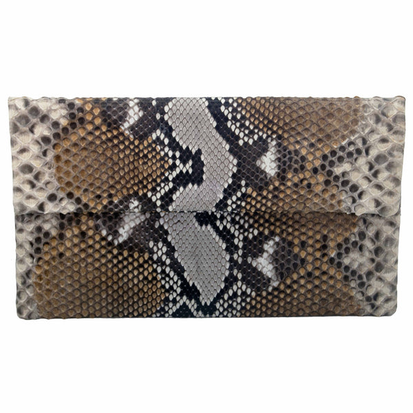 Clutch Natural con Marrones