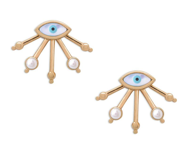 Lucky eye earring