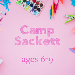 Camp Sackett (ages 6-9) - Arts & Crafts Summer Camp