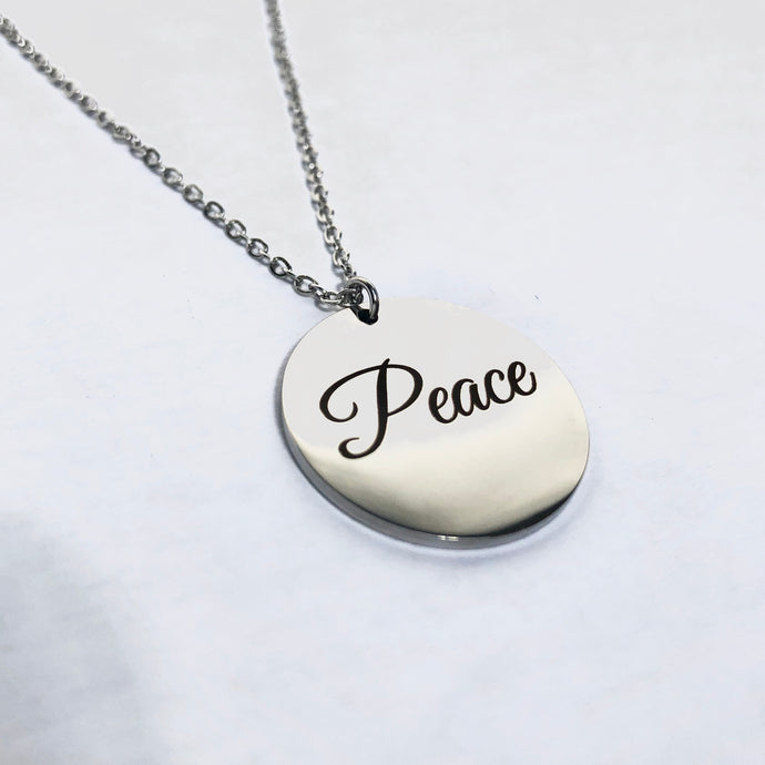 Peace Pendant by Lady JC Muses