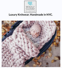 Load image into Gallery viewer, SOLD OUT: Knitting Workshop: Learn to Knit a Chunky Baby Blanket or Pet Bed in 1 Hour!