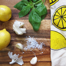 Load image into Gallery viewer, When Life Gives You Lemons Dish Towel by The Neighborgoods