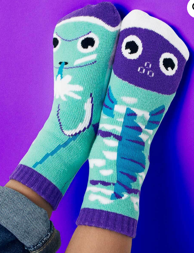 Dolphin & Fish Kids Socks by PALS