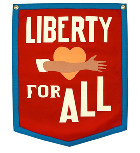 Liberty For All Camp Flag by Oxford Pennant
