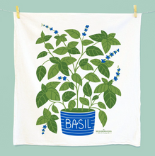 Load image into Gallery viewer, Basil Dish Towel by The Neighborgoods