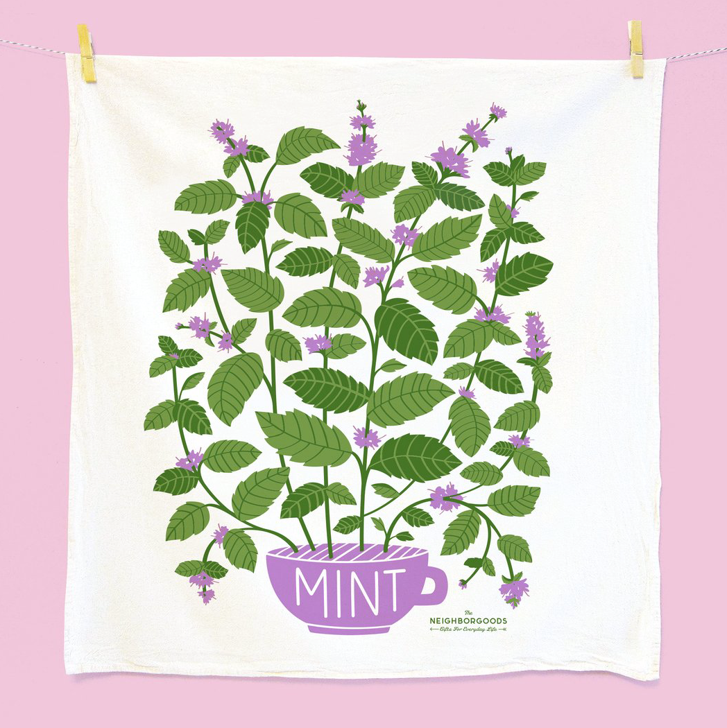 Mint Dish Towel by The Neighborgoods