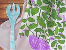Load image into Gallery viewer, Mint Dish Towel by The Neighborgoods
