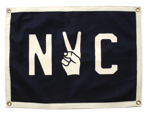 NYC Camp Flag by Oxford Pennant