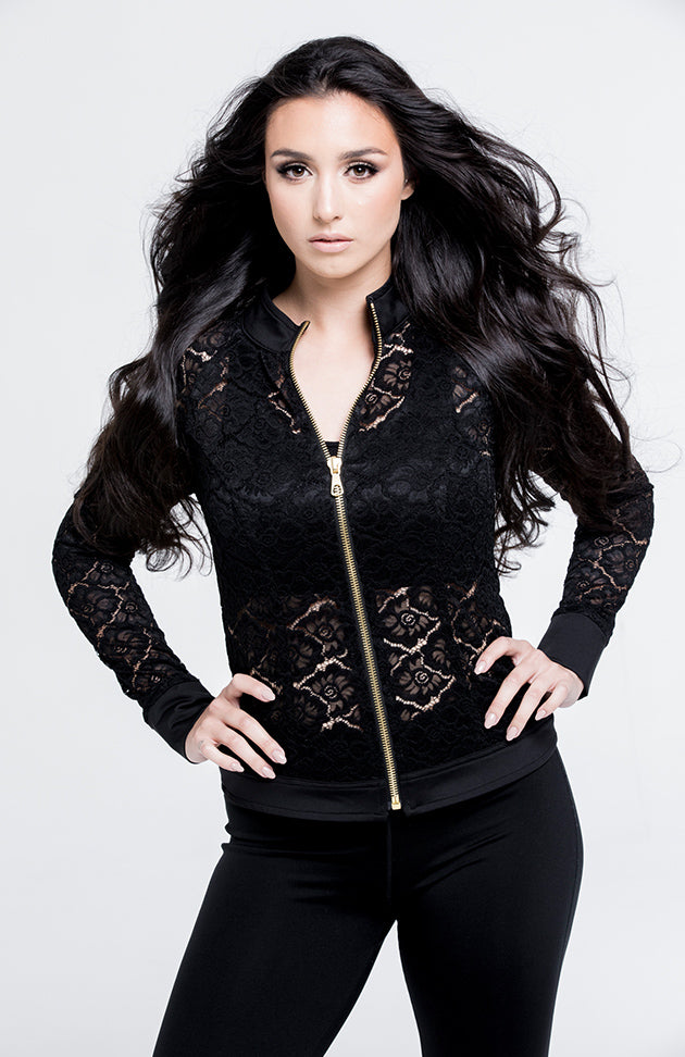 Gemmeo Black Lace Jacket