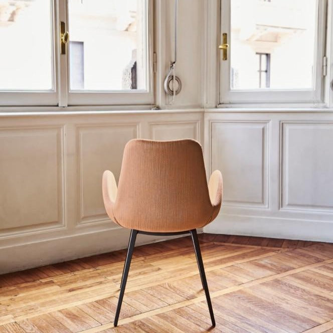 Dalia PA L TS Tall Armchair with Wood Base