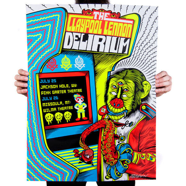 The Claypool Lennon Delirium: Gig Poster - Main Edition