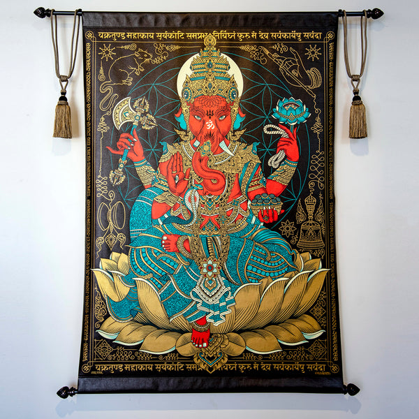 Remover of Obstacles: 6ft. Hanging Tapestry
