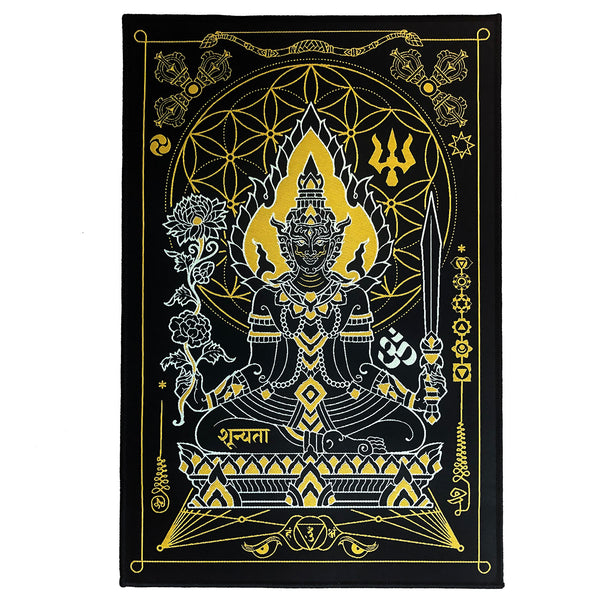 8x12in. Tapestry / Back Patch: Lord Indra