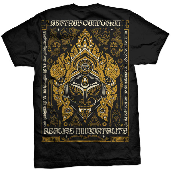 'Liberation Through Realization': Black T-shirt (Pre-Order)