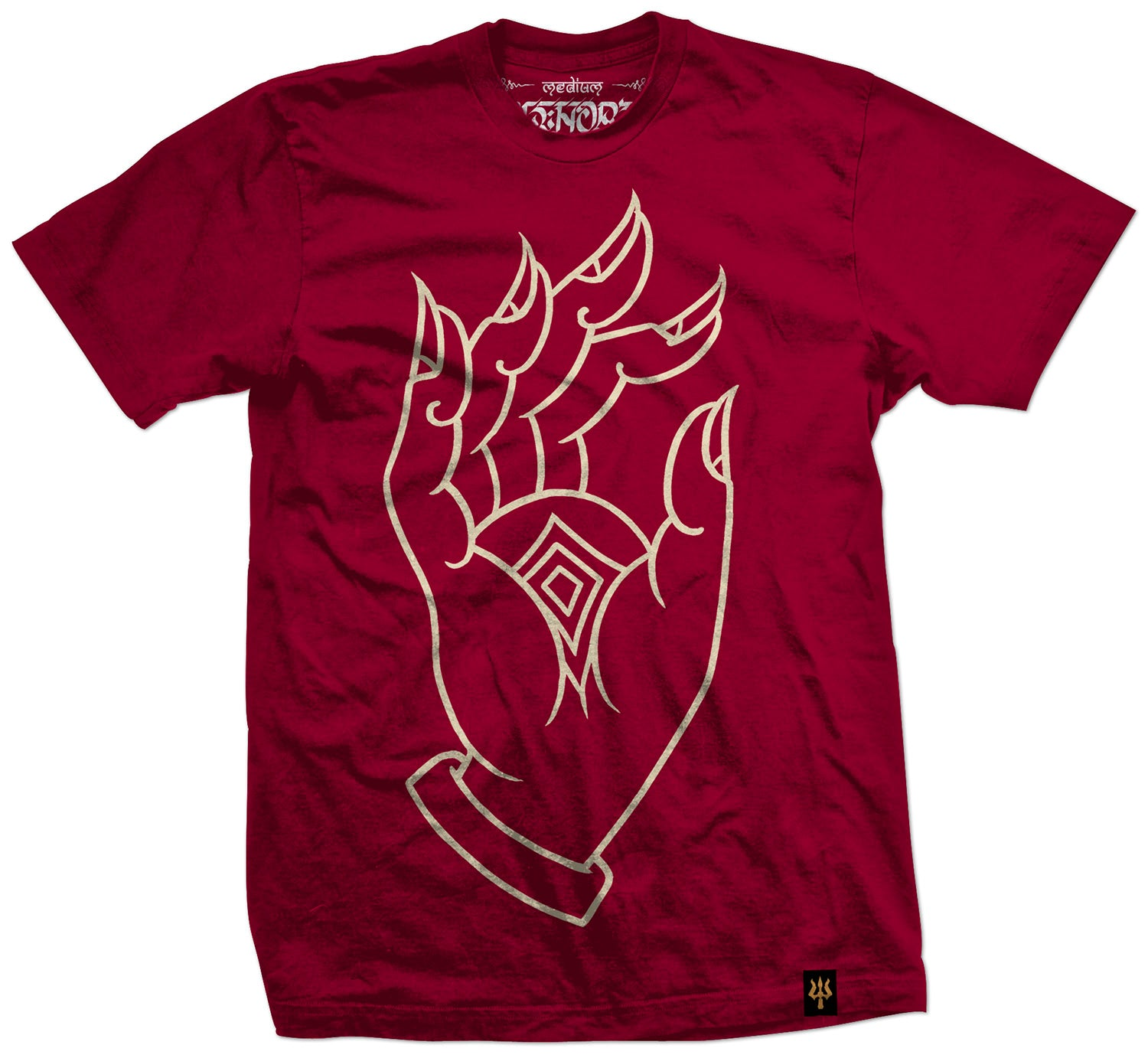 'Liberation Through Realization': Maroon T-shirt (Pre-Order)