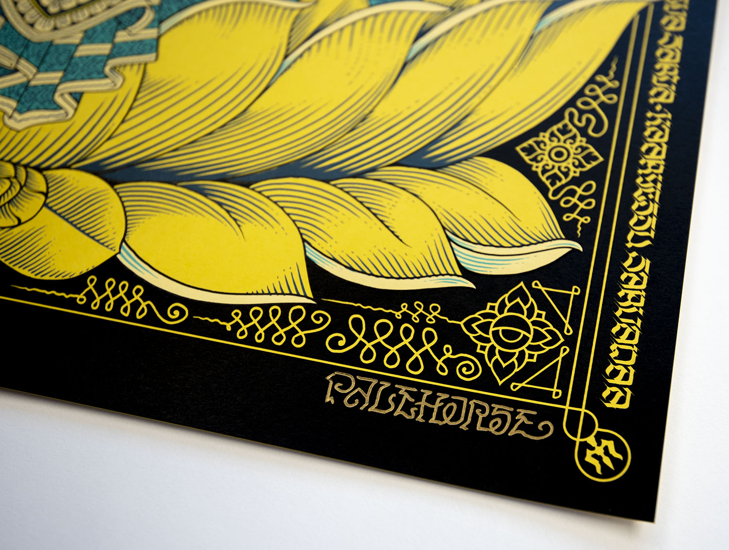 Remover of Obstacles: Lemon Drop Screen Print