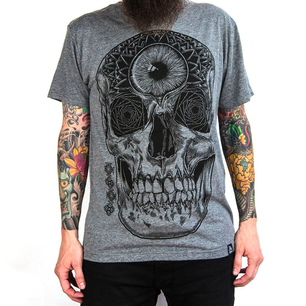 'Moment of Death' Skull T-Shirt