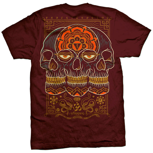 T-shirt: Practice Dying II ~ Maroon