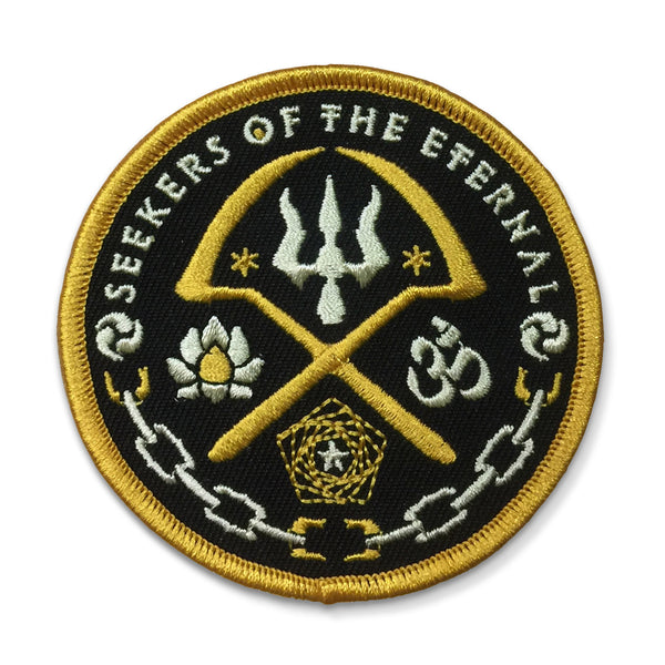 Embroidered Patch: Seekers of the Eternal