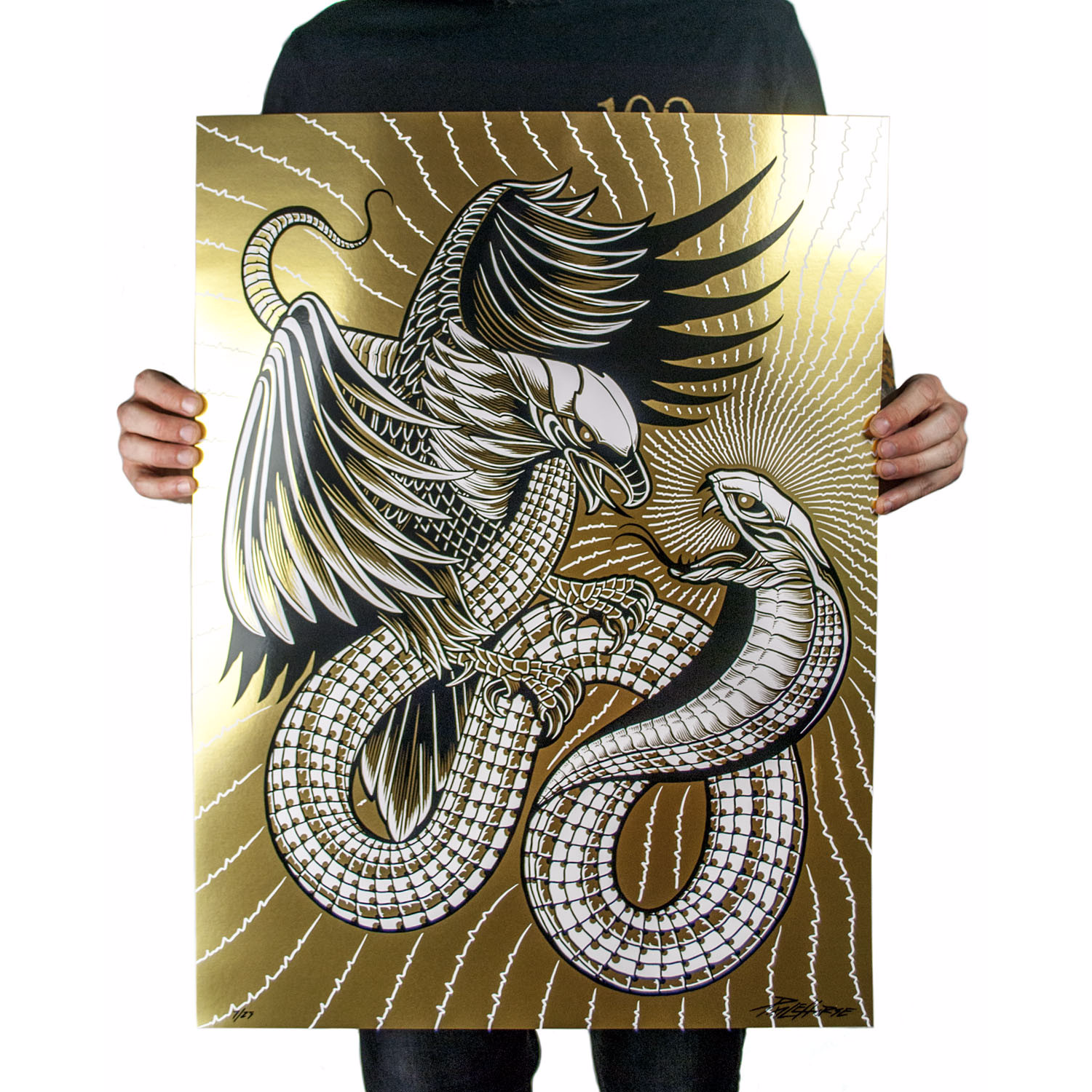 'Life Feeds On Life' - Gold Foil Variant